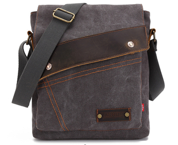 Men's messenger bag men Designer Handbag Canvas Casual Messenger Bag Students school bags 1