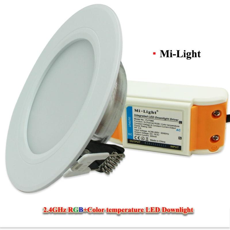 10 дана X 6W LED жарықтандырғыш шам Dimmable Mi - LED Жарықтандыру - фото 2