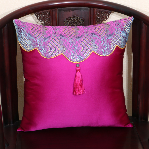 Creative Classic Patchwork Pillow Cushion Cover Sofa Seat  : Creative Classic Patchwork Pillow Cushion Cover Sofa Seat Chair Back Cushion Chinese High End Silk Brocade from www.aliexpress.com size 600 x 600 jpeg 334kB