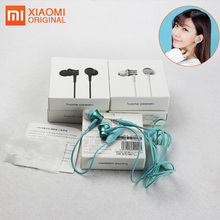 купить 5PCS Original Xiaomi Earphone Millet Piston Drop Shipping Wired Earphones With Microphone Auriculares Con Microfono Ear Phones дешево