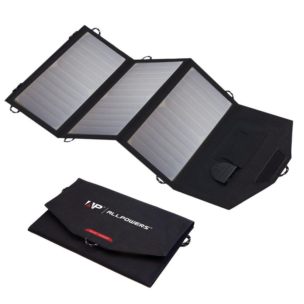 5 V 12 V 18 V 21 W cargadores solares para el iPhone 4S 5 5S 6 6 S 7 8 iPhone 10 iPhone X mini iPad aire Samsung Dell HP Acer batería del coche