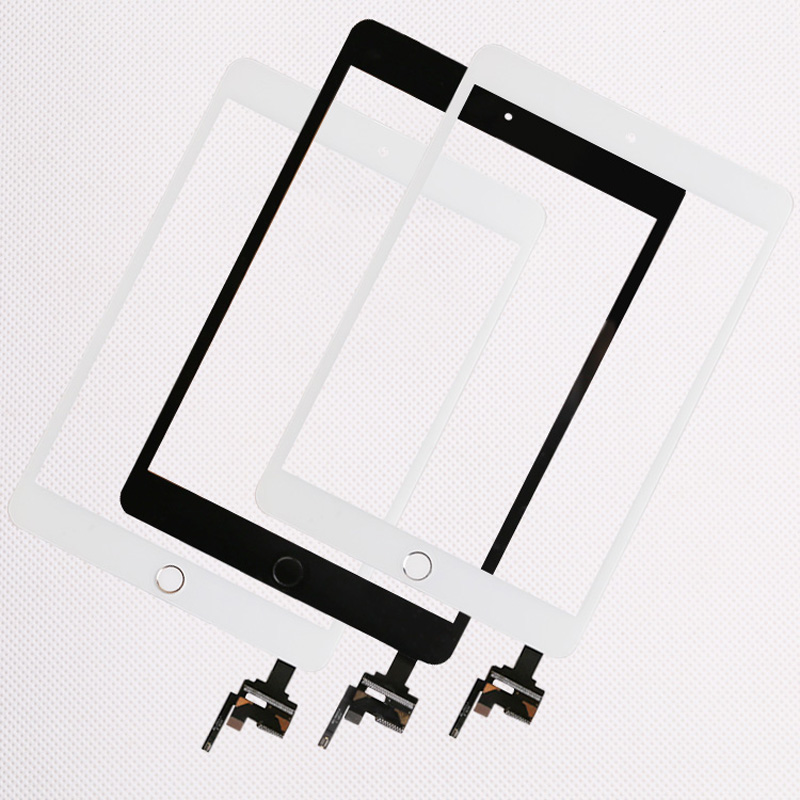 10pcs lot Good Quality For iPad mini 1 2 mini 3 Touch Screen Assembly Panel With