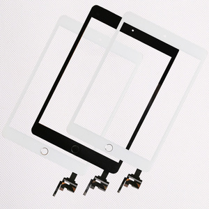 Image 1 - 10 teile/los Gute Qualität Für iPad mini 1/2 mini 3 Touch Screen Panel Mit Home Button + IC Stecker