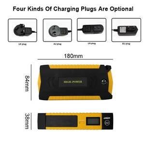 Image 5 - Başlangıç pil şarj aleti araba atlama marş güç bankası taşınabilir 600A 12V araba güçlendirici şarj başlangıç cihazı benzinli dizel araba marş