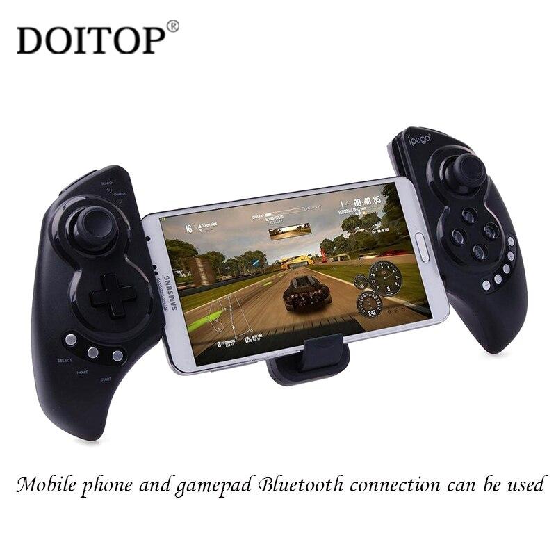 DOITOP IPega PG 9023 PG9023 contrôleur de jeu sans fil Bluetooth manette de jeu pour Smartphone iOS Android pour Apple Ipad tablette PC C4