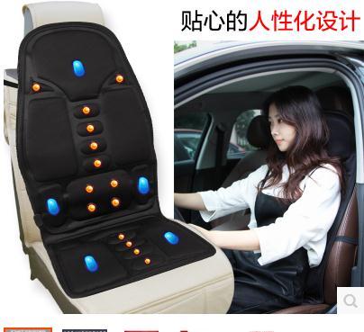 ФОТО 110-220-24V Car Home Office Full-BodyMassage Cushion. Back Neck Massage Chair Massage Relaxation Car Seat. Heat Vibrate Mattress