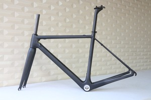 Image 1 - Cadre de vélo de route tout en Fiber de carbone T1000, tailles 48,50,52,54,56, 58 et 60cm, FM066