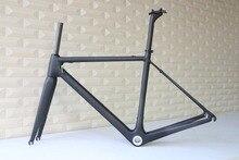 T1000 Cuadro De Carbono marco completo fibra tamaño 48,50 52,54 56 58 y 60cm bicicleta carretera FM066