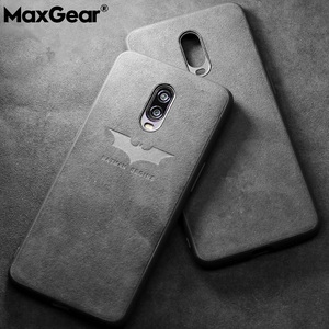 Fashion Luxury Suede Fur Leather Case For OnePlus 5 5T 6 7T 7Pro Soft TPU Back Cover For OnePlus 8 7 Pro One Plus 6T Coque Case(China)