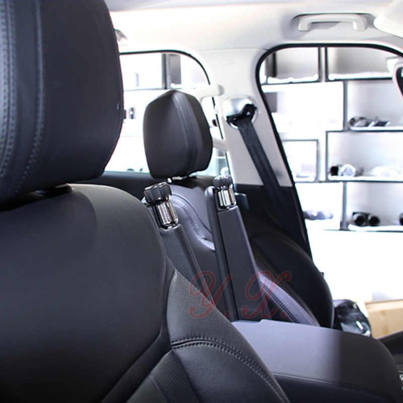 Para Range Rover Assento Da Liga Do Zinco Botão Corrimão decoração cabeça para o Esporte Range Rover Descoberta SV 5 auto Acessórios