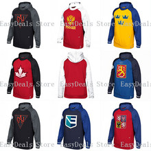 Hoodie Jersey Custom Any Name Any Number All Stitched Logo Hockey Jersey  Hoodie Streetwear S-4XL VIVA VILLA ebb7aa4b9