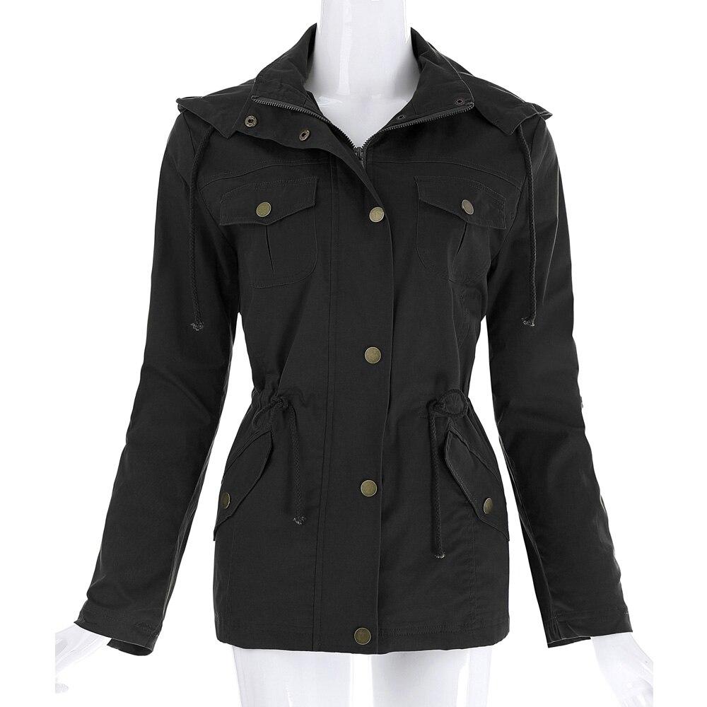 Aliexpress.com : Buy Kate Kasin Women Military Jacket Bomber Coat ...