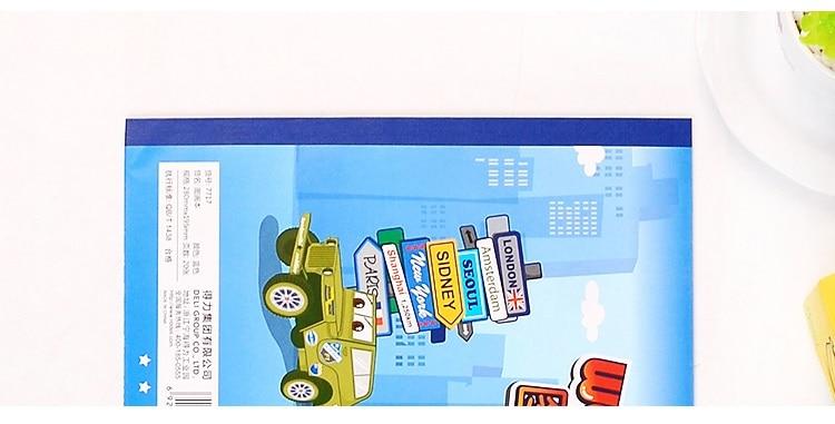 Deli Papel Pintura A4 Crianças Desenho Livro