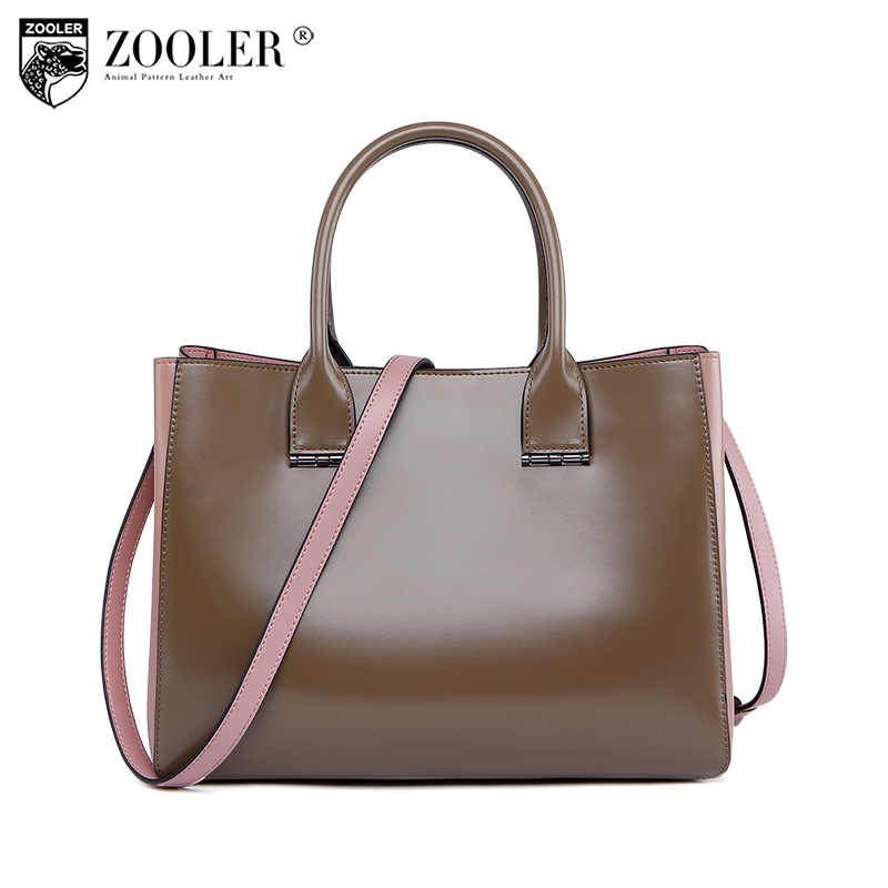 NEW ZOOLER genuine leather bags for women luxury handbags bags woman famous brand designer shoulder bag bolsa feminina U-505 luxury brand handbags women bags new 2018 designer women s genuine leather handbags casual shoulder hand bags bolsa feminina d15
