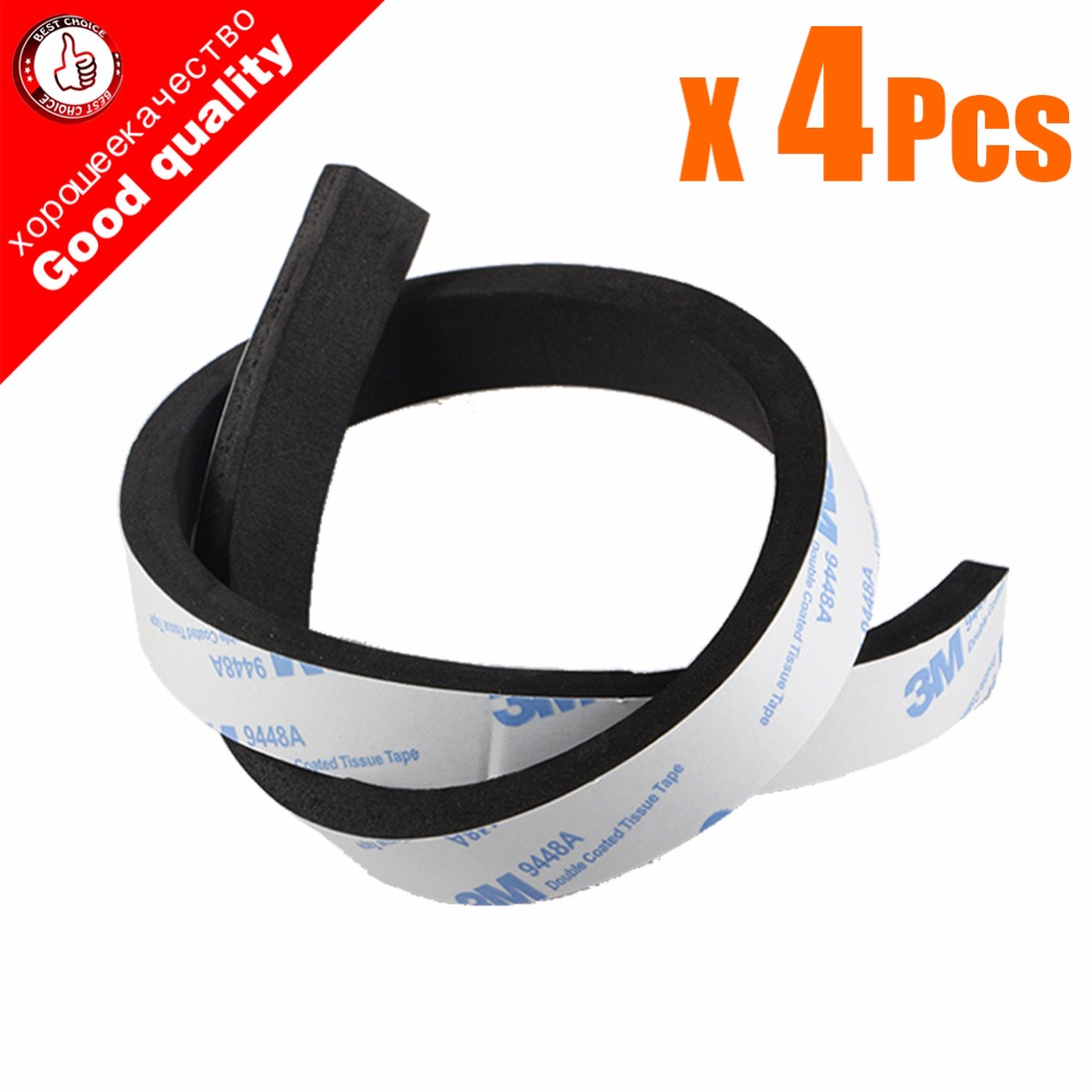4pcs/Lot Rubber Bumper Guard Strip For Neato Ecovacs irobot Roomba 400 500 600 700 800 900 series 550 620 630 650 770 870 980 бра artelamp a7118ap 1ab