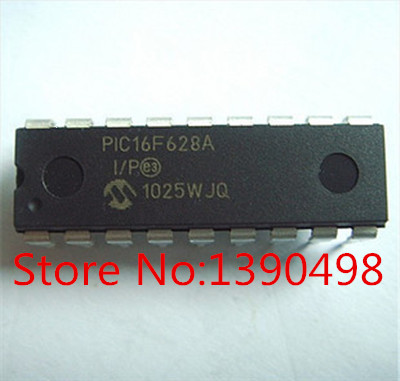 Free Shipping PIC16F628A I/P PIC16F628A 100pc/lot DIP18 IC-in Integrated Circuits from Electronic Components & Supplies