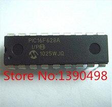 شحن مجاني PIC16F628A I/p PIC16F628A 100 قطعة/الوحدة dip18 ic