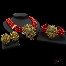 hot deal buy yulaili hot sell trendy earrings bracelet necklace with elegant high quality and exquisite taste in party