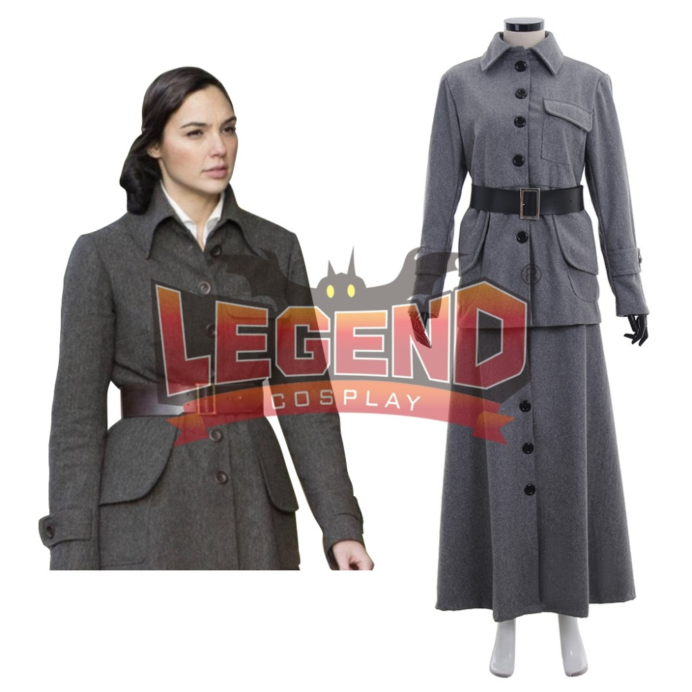 Wonder Woman Superhero Costume Cosplay Diana Prince Suit Uniform Clothes Wool Woman Adult