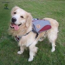 Venkovní velký pes sedlový batoh Bag sáček na psů Multifunkční pes pro přepravu psů pro turistické tréninkové výcviku Pet Carrier Product