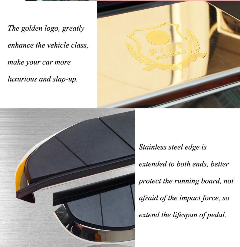 Nowość dla Fiat Freemont boczna listwa progowa nerf bar - Części samochodowe - Zdjęcie 5