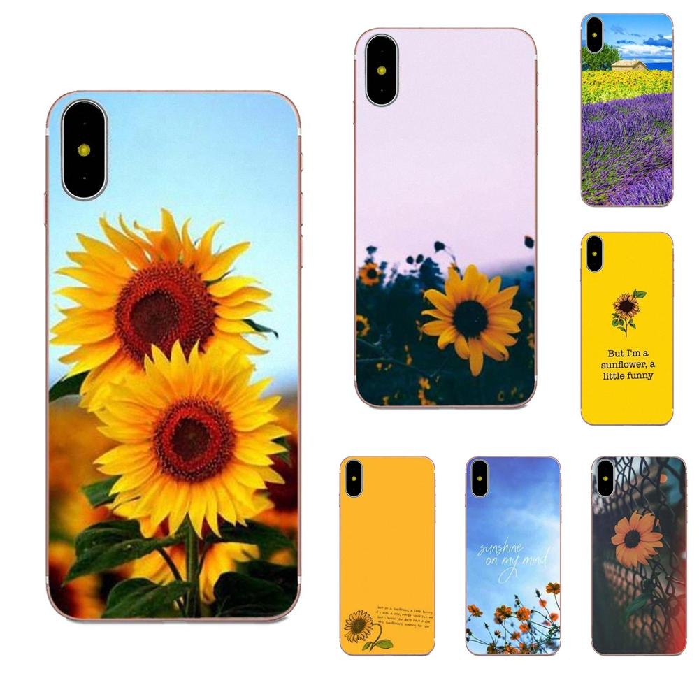 Soft TPU Mobile Case Sunfowers Fantasy Show For Xiaomi Redmi Note 2 3 3S 4 4A 4X 5 5A 6 6A Pro Plus image