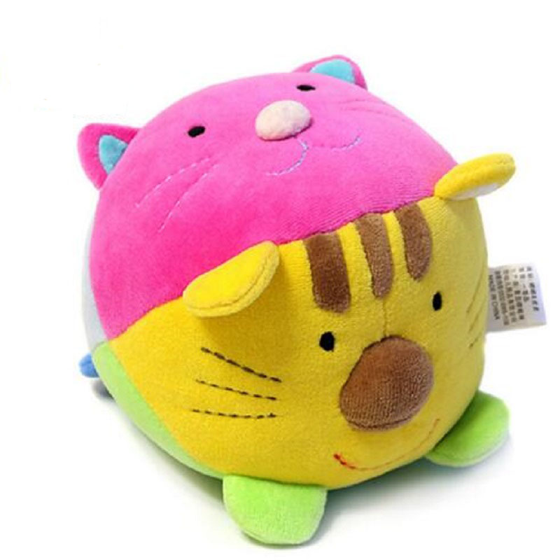 Soft Crib Toys : Cute baby toy soft plush teether musical crib mobiles