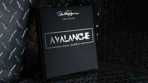 Paul Harris Presents AVALANCHE (Gimmick And Online Instructions) Card Magic Tricks Illusions Close Up Magician Decks Mentalism
