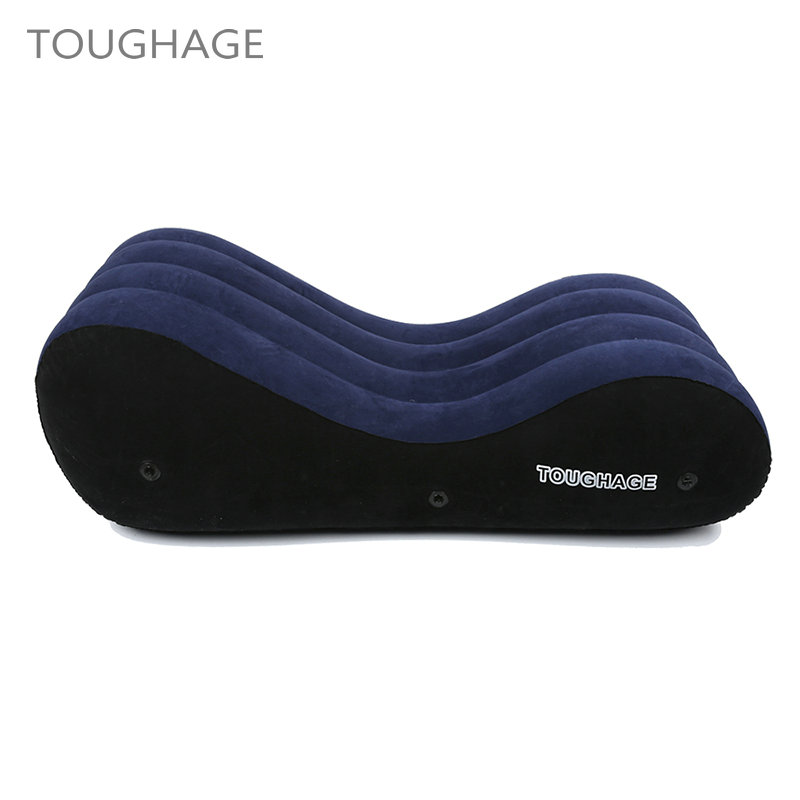 TOUGHAGE Sex Toys for Couples Sex Furniture Sofa Inflatable Love Sex Pillow Chair Positions Multifunctional Pad Adult Products цена