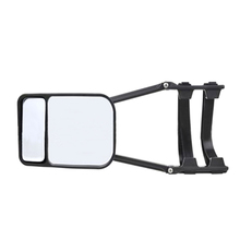 Trailer Towing Dual Mirror Heavy Adjustable Clip-on Wing Extension Glass