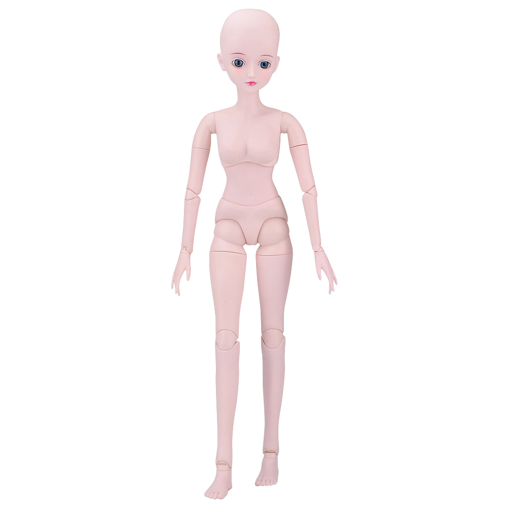 1/3 BJD Doll Nude Body Blue Eeys 19 Ball Jointed BJD Dolls Dressup DIY SD Doll Best Birthday Gift for Girl Kids Toys Collection