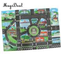 Trânsito da cidade Estrada Tapete Playmat Tapete Para Carros & Jogo de Trem Brinquedos Do Bebê Crianças Educacional Jogar Mat Para O Jogo de Quarto sala de Jogo # B