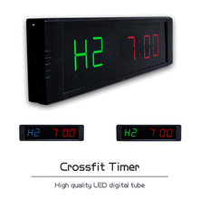 Ganxin 2018 new 1 Customized Led Digital Club garage timer Crossfit Sports Timer