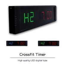[Ganxin]2018 new 1″ Customized Led Digital Club garage timer Crossfit Sports Timer
