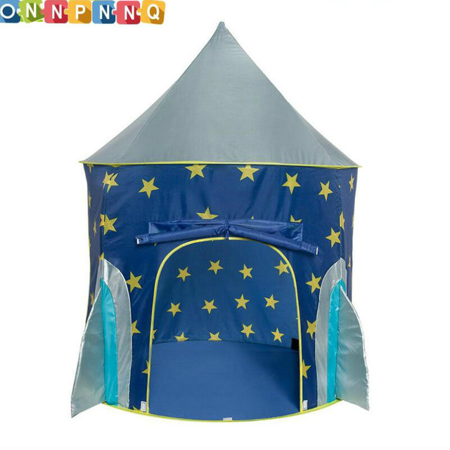 Delightful Tents For Kids Part - 5: Rocket Ship Play Tent For Kids Multicolor Spaceship Indoor Outdoor  Playhouse Space Baby Tents Children Toy