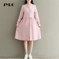 Jyro Brand Mori Women S Dresss Spring New Art Small Fresh Long Loose Large Size Mid