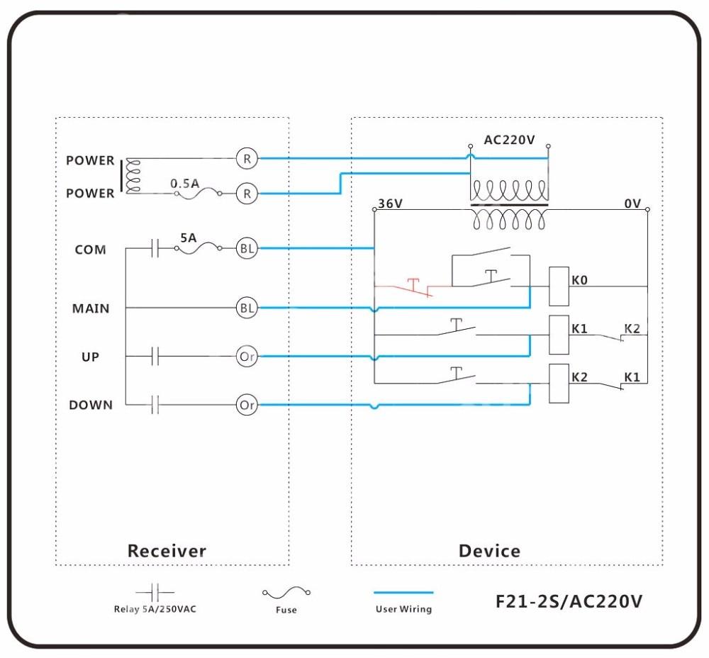 ehoistul electric hoist wiring diagram [ 1000 x 928 Pixel ]