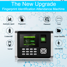 OULET Biometric Time Attendance System TCP/IP USB Fingerprint Access Control System Time Clock Recorder Employees Device Reader oulet biometric fingerprint tcpip attendance system time clock recorder attendance system fingerprint employees device reader