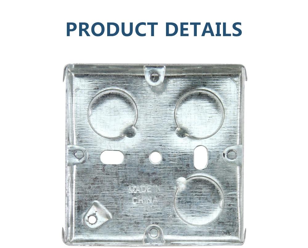 HTB1zu2ldWLN8KJjSZFmq6AQ6XXaf - British regulation 86 type zinc plate wall switch socket metal wiring bottom box 86-03