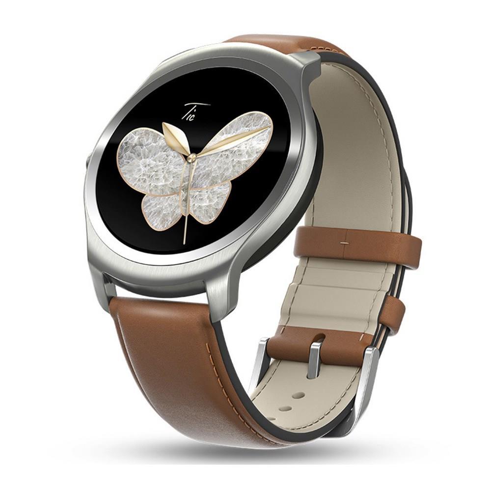 Ticwatch 2 Smart watch MTK2601 1.2GHz 512M RAM 4GB ROM GPS Wearable Devices Tracker Smartwatch Phone IP65 Water Resistant Oak smart baby watch q60s детские часы с gps голубые