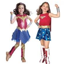 Halloween Wonder Vrouw magic meisje, kinderen cosplay, kostuum voor kinderen, magic vrouw jurk COS kleding
