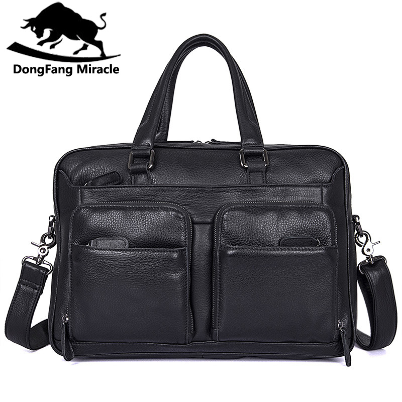 Business Genuine Leather Men Briefcase Cowhide Men's Messenger Bags 17 Laptop Casual Bag Luxury Lawyer Handbag new genuine leather coffee men briefcase 14 inch laptop business bag cowhide men s messenger bags luxury lawyer handbags lb9006