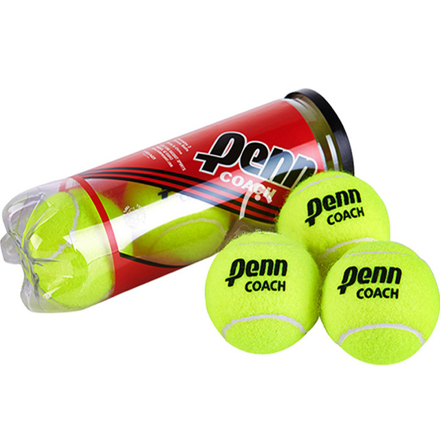 Head Tennis Balls 3 PCS High Rebounce Tenis Training Cricket Ball Sports Accessories Practice Hit Tennis Trainer
