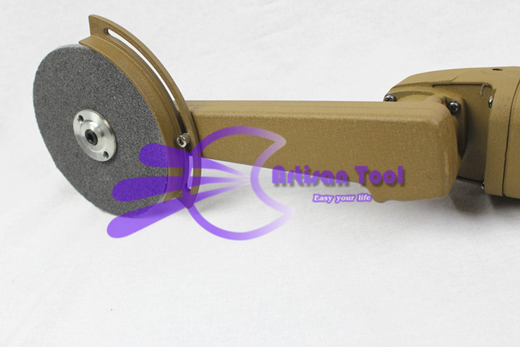 Levigatrice abrasiva per smerigliatrice a filetto per lucidatura - Utensili elettrici - Fotografia 5