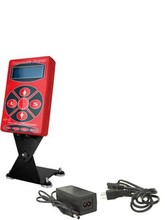 Hot Selling Red HP2 Hurricane Tattoo Power Digital Dual LCD Display Tattoo Power Supply