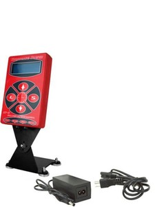 2017 Hot Selling Red HP2 Hurricane Tattoo Power Digital Dual LCD Display Tattoo Power Supply Free Shipping