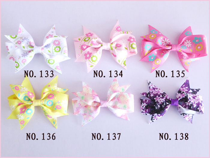 "300 BLESSING Good Girl Boutique 3.5/"" A Mermaid Hairbow Clip #248 Wholesale Baby"