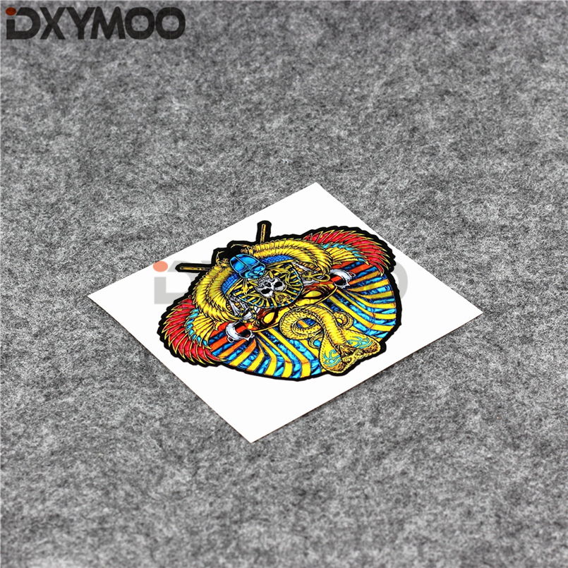 Car Styling Snake Helmet Motorcycle Oil Tank Tail Car Stickers for ICON Pharaoh 10x8.8cm 1000m motorcycle helmet intercom bt s2 waterproof for wired wireless helmet