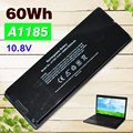 "Black 60Wh Laptop Battery For Apple A1185 MA566 MA566FE/A MA566G/A MA566J/A FOR MACBOOK 13"" A1181 MA472 MA472B/A MA701 MB404X"