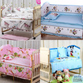 HOT 120x70cm 5Pcs baby crib bedding set kids bedding set newborn baby bed set crib bumper baby cot set bed bumper Free shipping